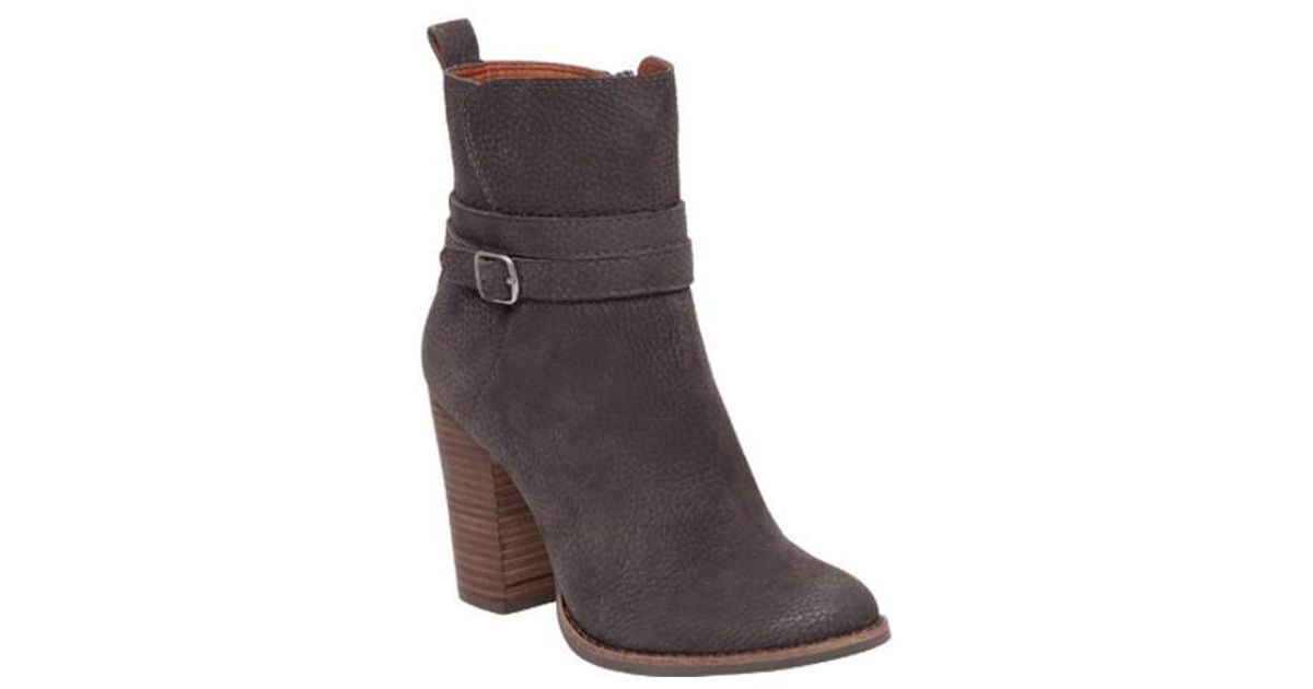 8e04072a3ecf8 Lucky Brand - Brown Latonya Ankle Boot - Lyst