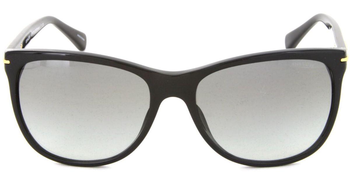 f7578e93eb Lyst - Coach Sunglasses Hc8117f Blakely 500211 Black 55mm in Black