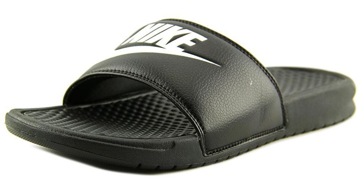 760ed3514b76 Lyst - Nike Benassi Solarsoft Slide 2 Men Us 9 Black Slides Sandal .