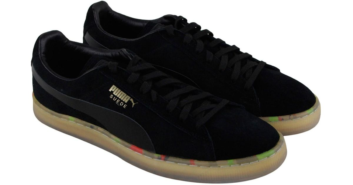 newest 5a255 2dc39 PUMA - Black Suede Classic V2 Athletic & Sneakers for Men - Lyst