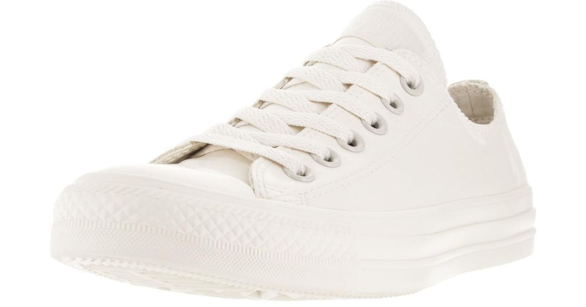 Lyst - Converse Unisex Chuck Taylor All Star Ox Parcht/pa Basketball Shoe  10 Us / 12 Us in White