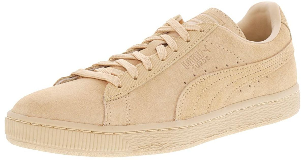 Lyst - Puma Suede Classic Tonal Ankle-high Fashion Sneaker - 8m in Natural  for Men 7ea326525