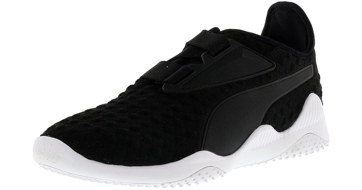 3c0dfd2b93a8 Lyst - Puma Mostro Bubble Knit Black   White Ankle-high Running Shoe - 9.5m  in Black for Men