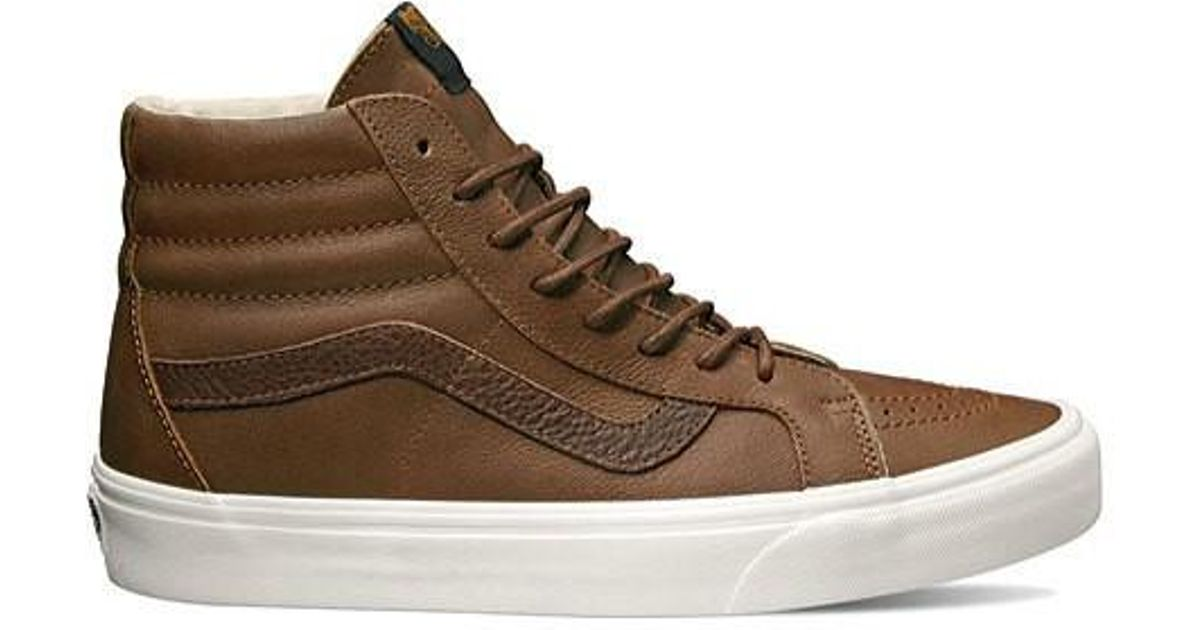 Lyst - Vans Unisex Sk8-hi Reissue High Top in Brown for Men - Save 5% a2402a236