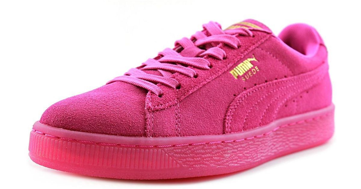 9cc061ac241 Lyst - PUMA Suede Classic Iced Pink Sneakers in Pink