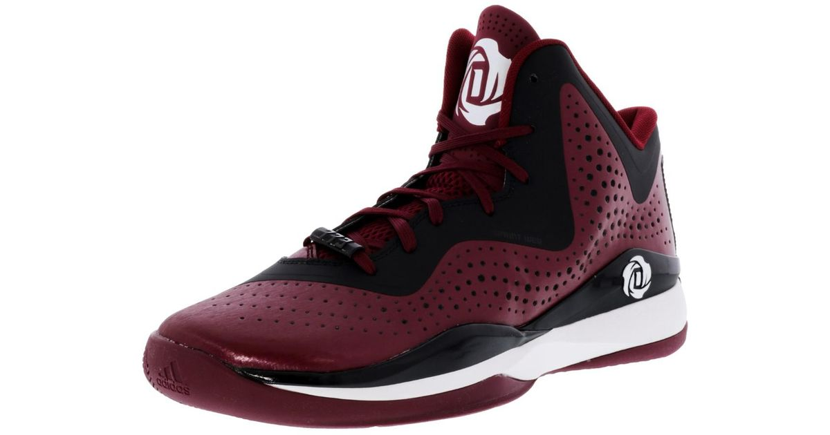 a35839dc3d14 italy adidas mens crazy bounce basketball shoe 714c4 a64da  order lyst  adidas d rose 773 iii maroon black footwear white high top basketball shoe  13.5