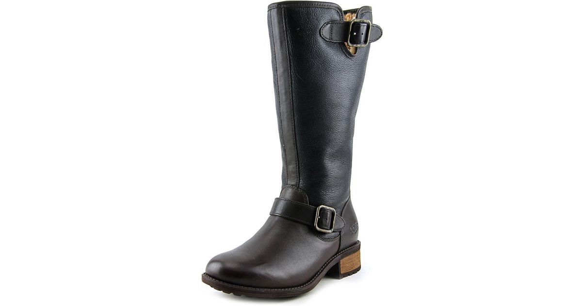 04ece9bfd93 Ugg - Black Chancery Women Us 7.5 Brown Winter Boot - Lyst