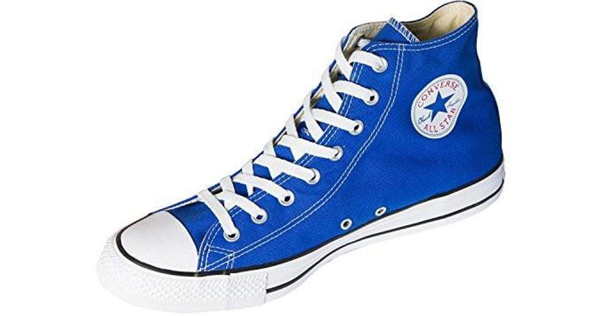 7783e6b46d67 Lyst - Converse Unisex Chuck Taylor All Star High Cut in Blue for Men