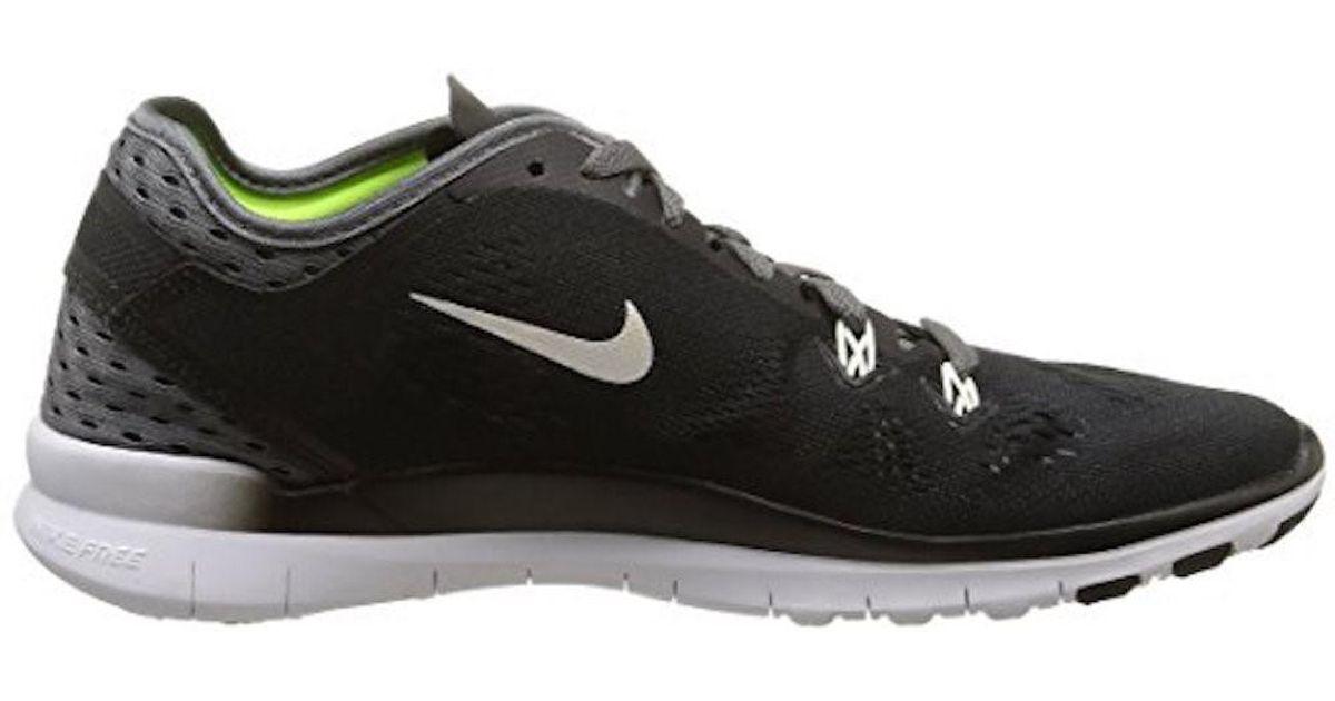 b4564825397d Lyst - Nike Womens Free Tr5 Breathe Running Shoe (8) in Black