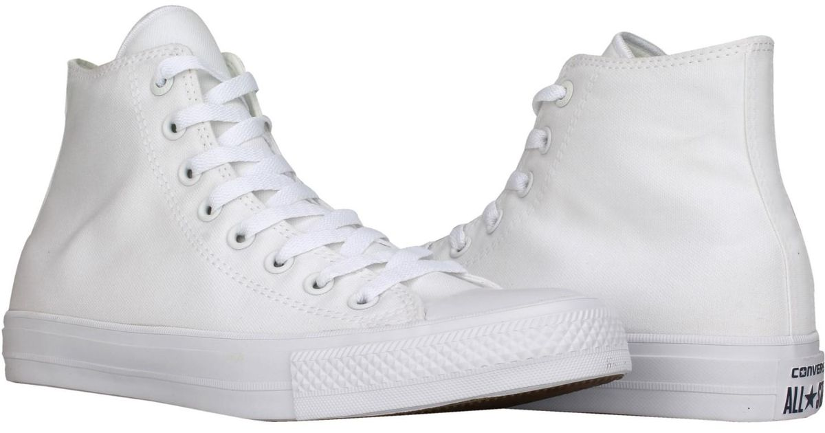 5414eb9162420 Converse - 150148c - Chuck Taylor All Star Hi 5 7 / Optic_white for Men -  Lyst