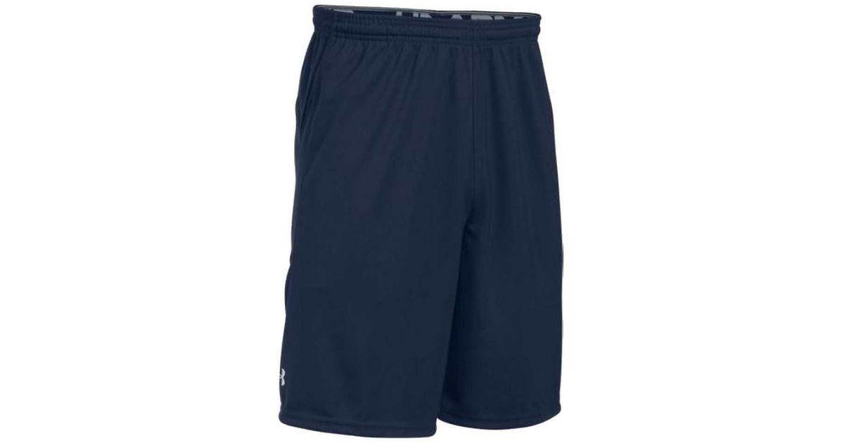 bdc452a412 Under Armour - Blue Ua Team Coaches Short Athletic Sport 1228908 for Men -  Lyst