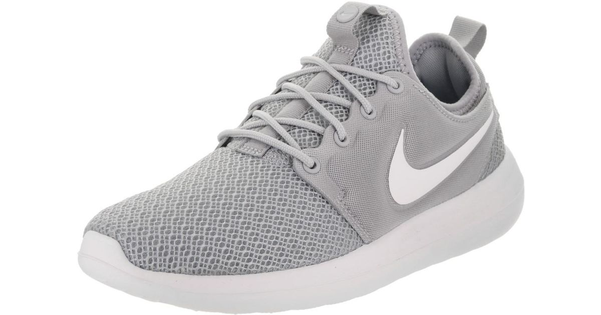 timeless design b681e 8cace Lyst - Nike Roshe Two Wolf Grey white wolf Grey Running Shoe 9 Women Us in  Gray