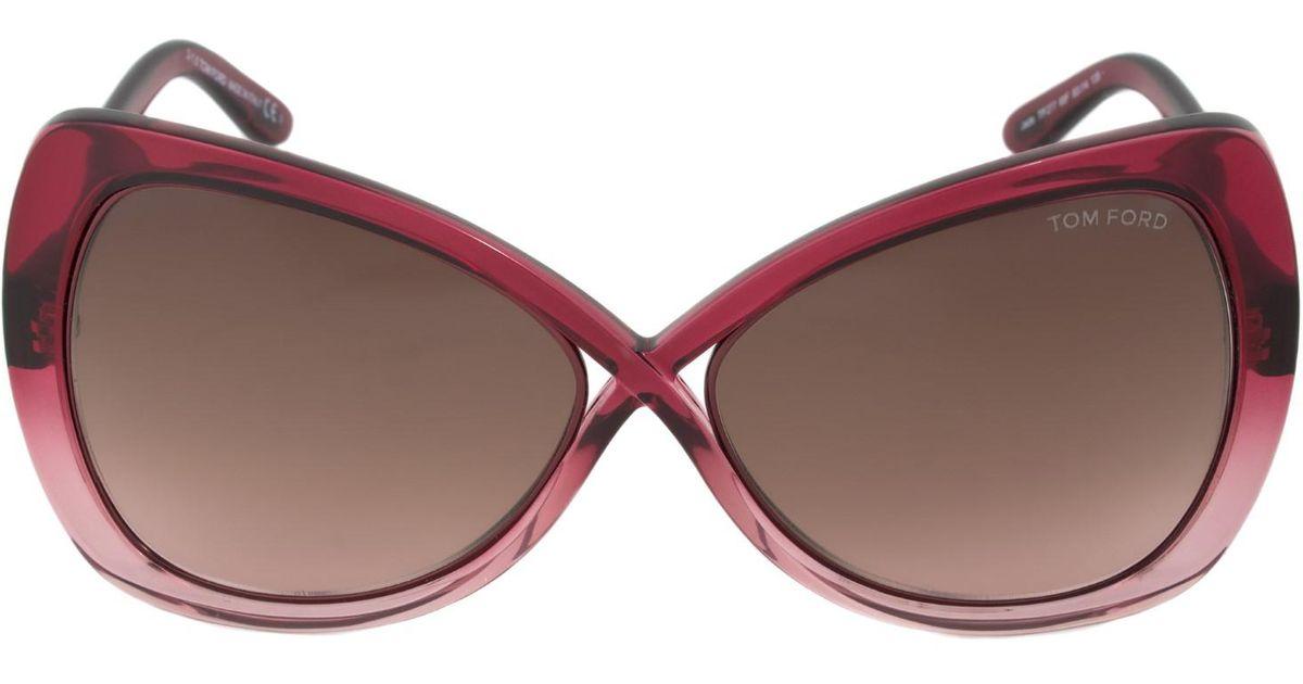 3939ee6b7f Lyst - Tom Ford Ft0277 68f Jade Sunglasses