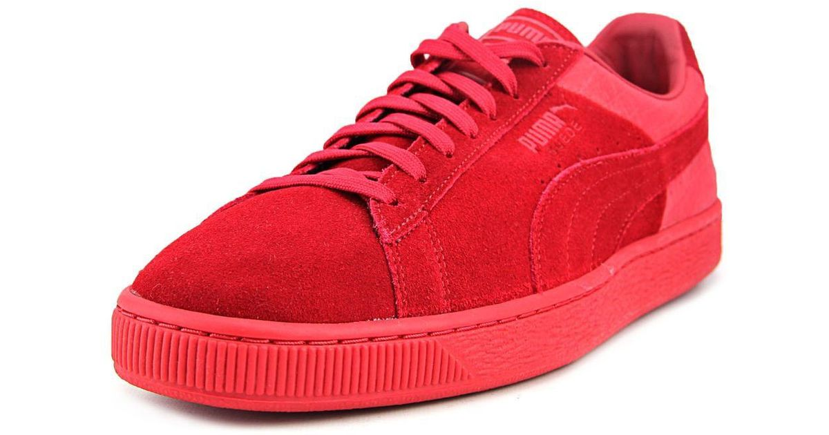 aac97d8af2f1e3 Lyst - Puma Suede Classic Casual Emboss Men Us 9.5 Red Sneakers in Red for  Men