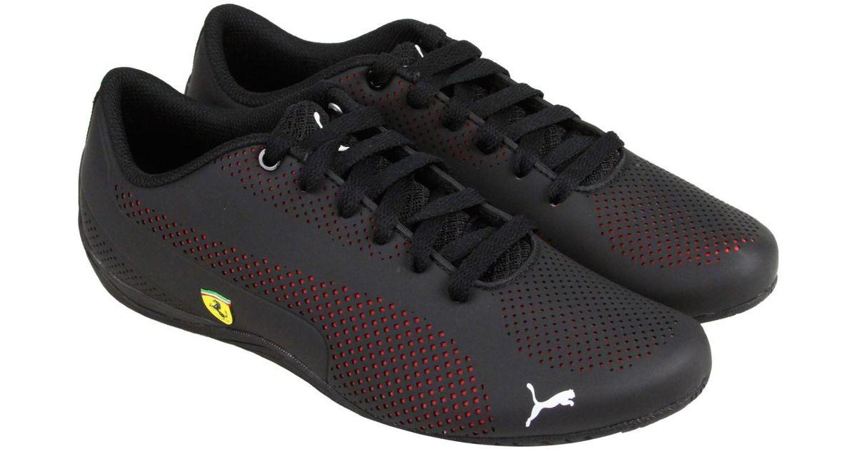 Lyst - PUMA Ferrari Drift Cat 5 Ultra Sneaker in Black for Men 955d608bf