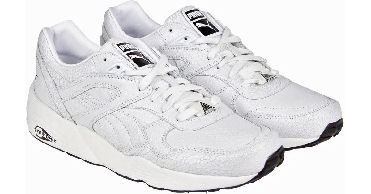 ba809a23f8 ... 50% off lyst puma trinomic r698 crackle in white for men 91bd8 c64e4
