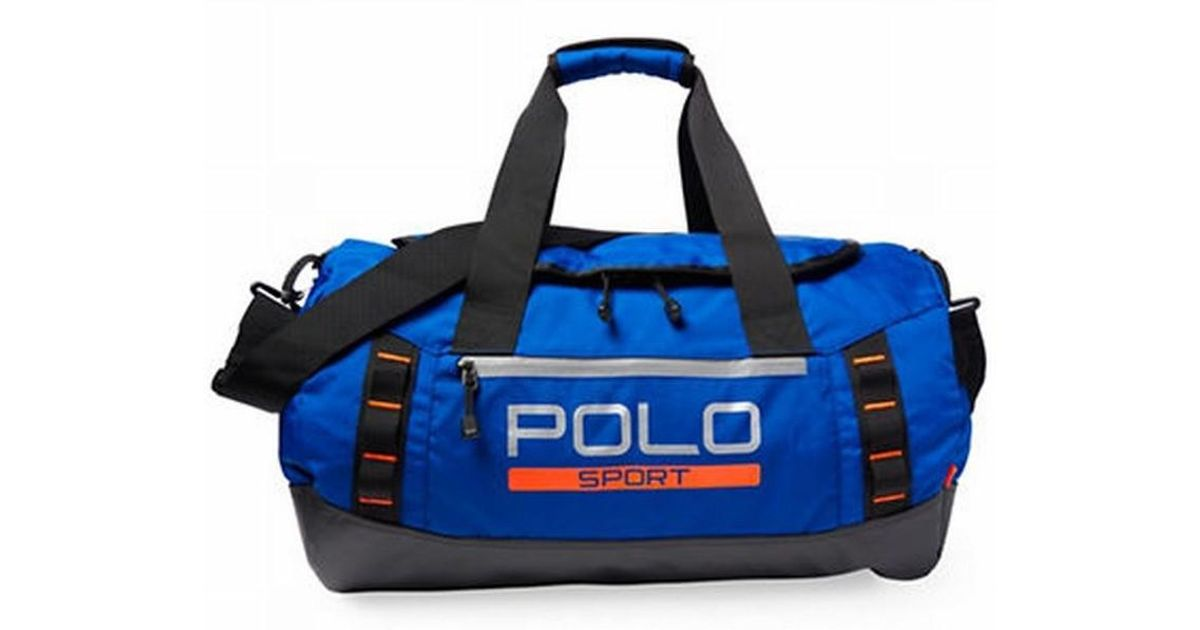 Lyst Polo Ralph Lauren Shire Star Blue Sport Duffle Gym Bag In For Men