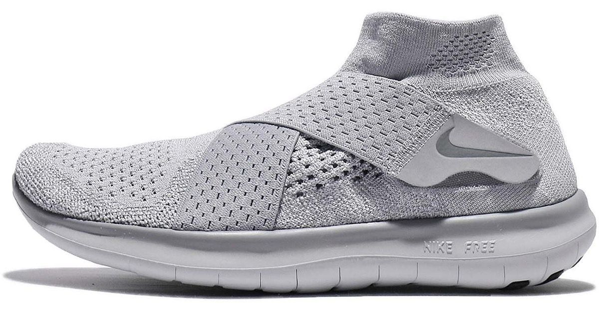 c55095cf5e2a Lyst - Nike Free Rn Motion Fk 2017 Running Shoe in Gray for Men