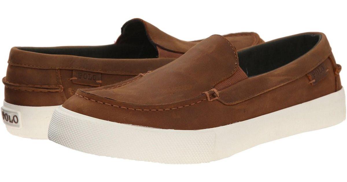 6380d38476c Lyst - Polo Ralph Lauren Trentham Sk Vlc Casual Shoe in Brown for Men