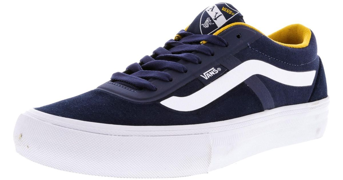 08399cd7f7 Lyst - Vans Av Rapidweld Pro Ankle-high Skateboarding Shoe - 7.5m in Blue  for Men
