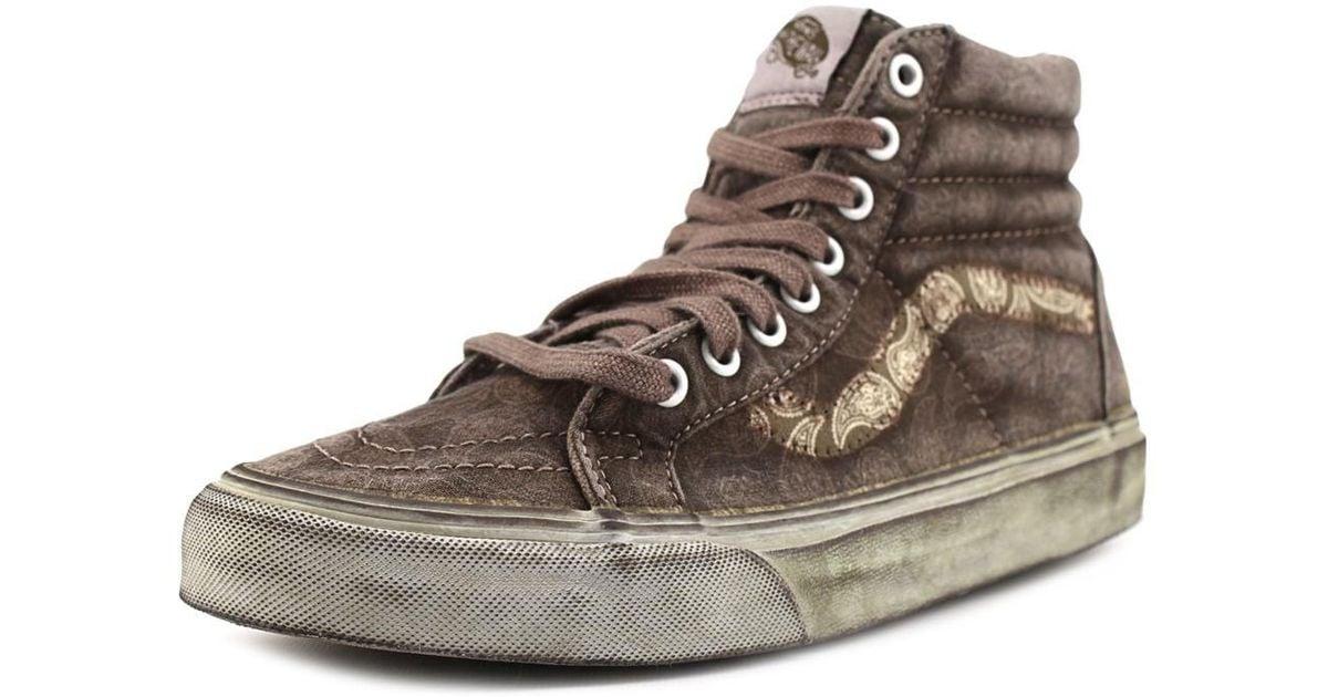 dfdedde862 Lyst - Vans Sk8-hi Reissue Women Us 6.5 Brown Sneakers in Brown for Men