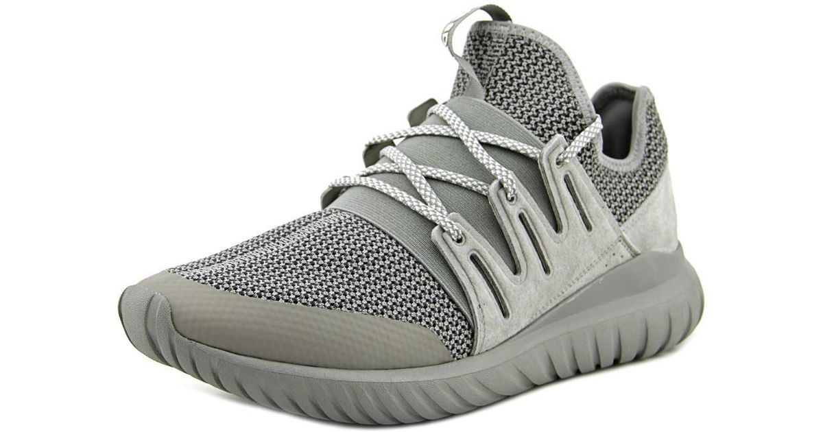 c1d63c039736 Lyst - adidas Tubular Radial Men Us 9 Gray Sneakers in Gray for Men