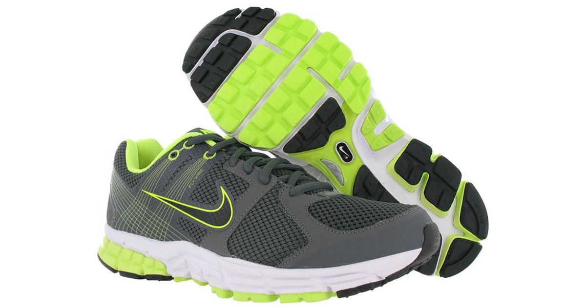 low priced 81e33 2e8e7 Nike Air Zoom Structure Triax+ 15 Running Shoes in Gray for Men - Lyst