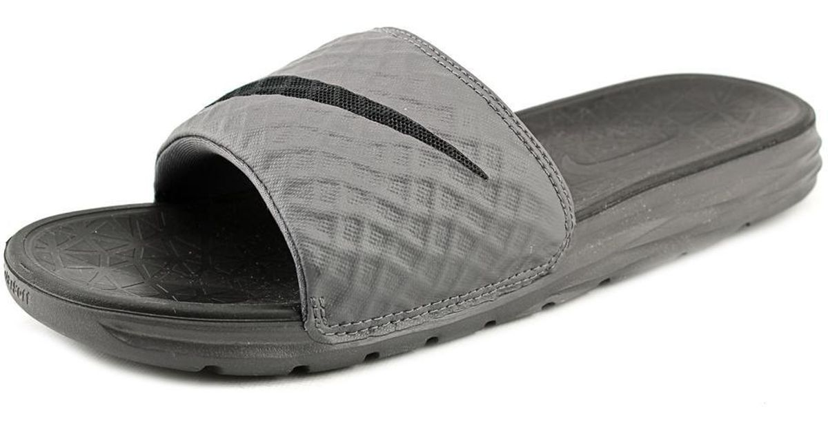 dd1791a913c9 ... ireland lyst nike benassi solarsoft slide 2 sandals in gray for men  5a283 fbb41