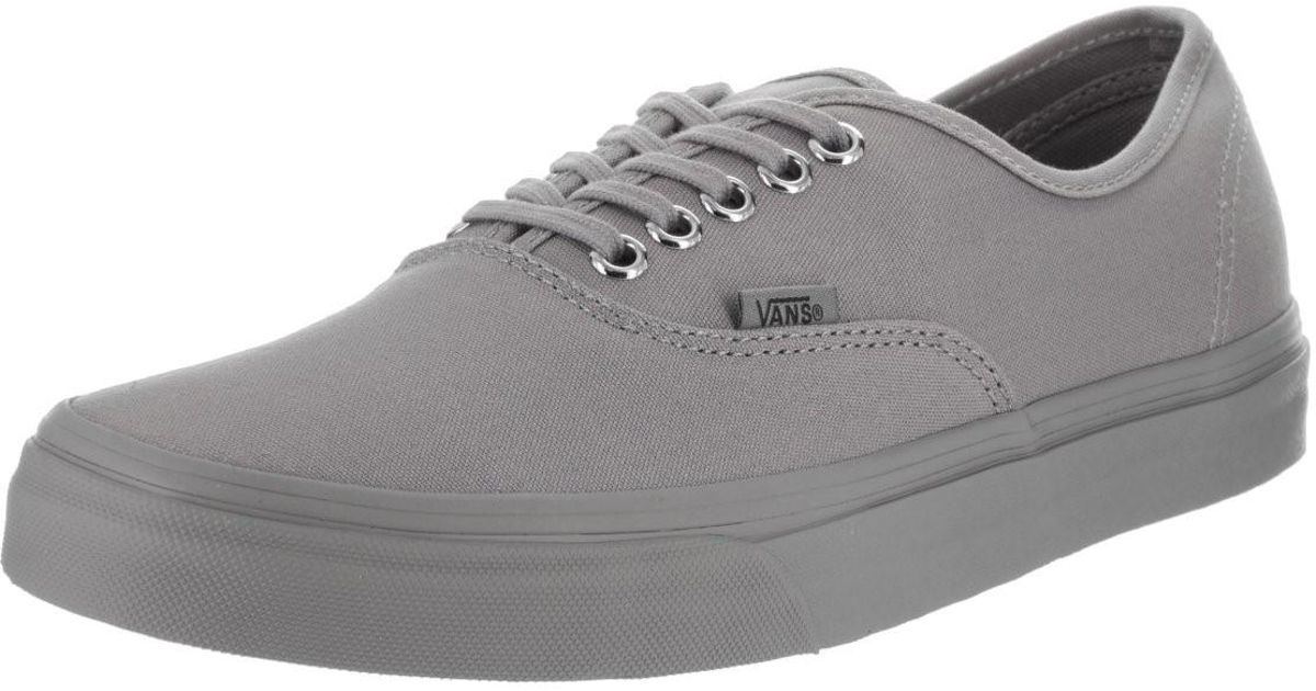 Lyst - Vans Vn-0a38emmq8   Unisex Authentic (primary Mono) Frost Grey Skate  Shoe (9.5 B(m) Us Women   8 D(m) Us Men) in Gray for Men 61e20cdceb