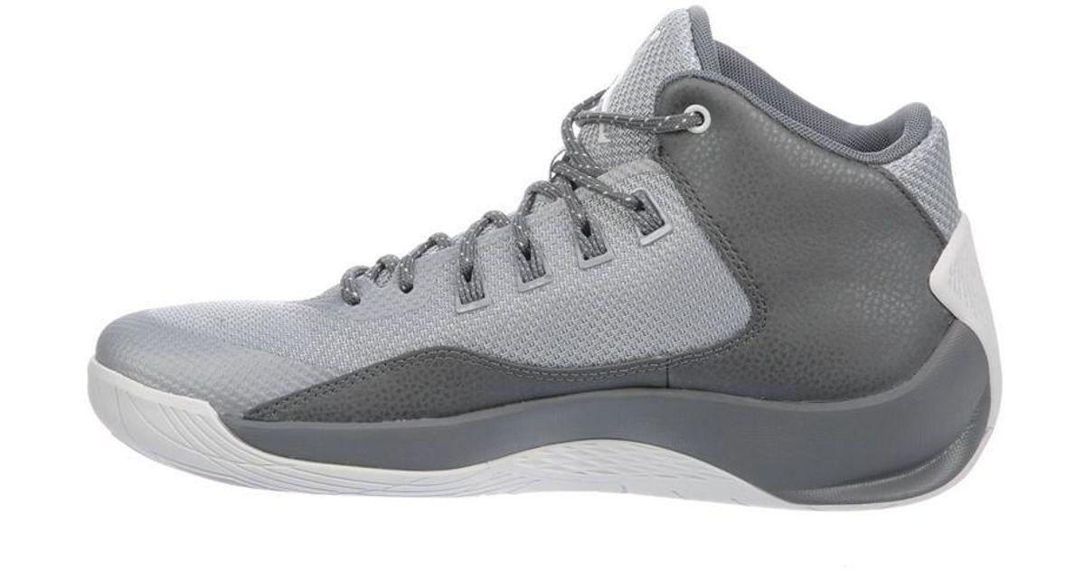 sports shoes 0eaf0 af0e8 Nike - Jordan Rising High 2 Basketball - 10 - Gray for Men - Lyst