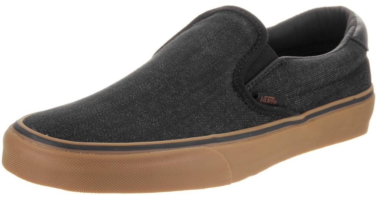 Lyst - Vans Unisex Slip-on 59 (denim C l) Black gum Skate Shoe 7.5 Men Us    9 Women Us in Black for Men ee00f912a8