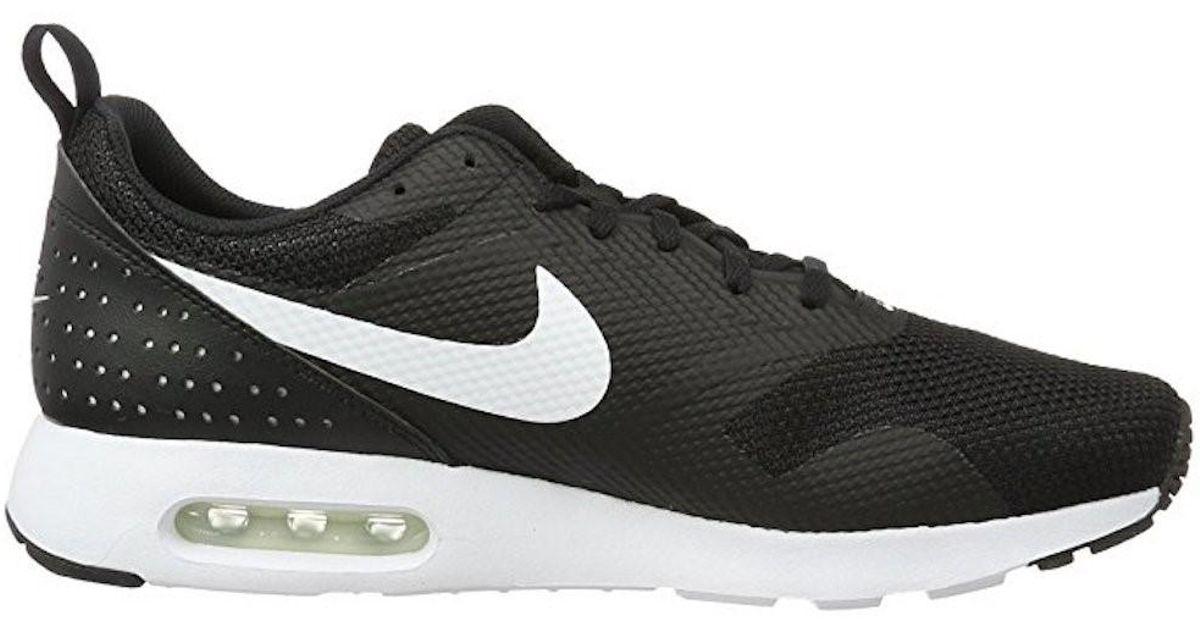 cheap for discount 9b598 94cc8 Lyst - Nike Air Max Tavas Black white Running Shoe 10.5 Men Us in Black for  Men