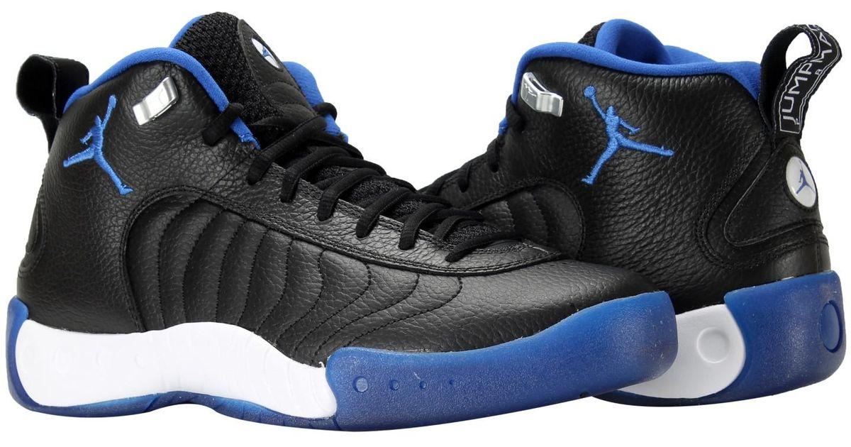 release date: 2ec7a c7829 Nike Nike Jordan Jordan Jumpman Pro Black/varsity Royal Basketball Shoe 9  Us in Black for Men - Lyst
