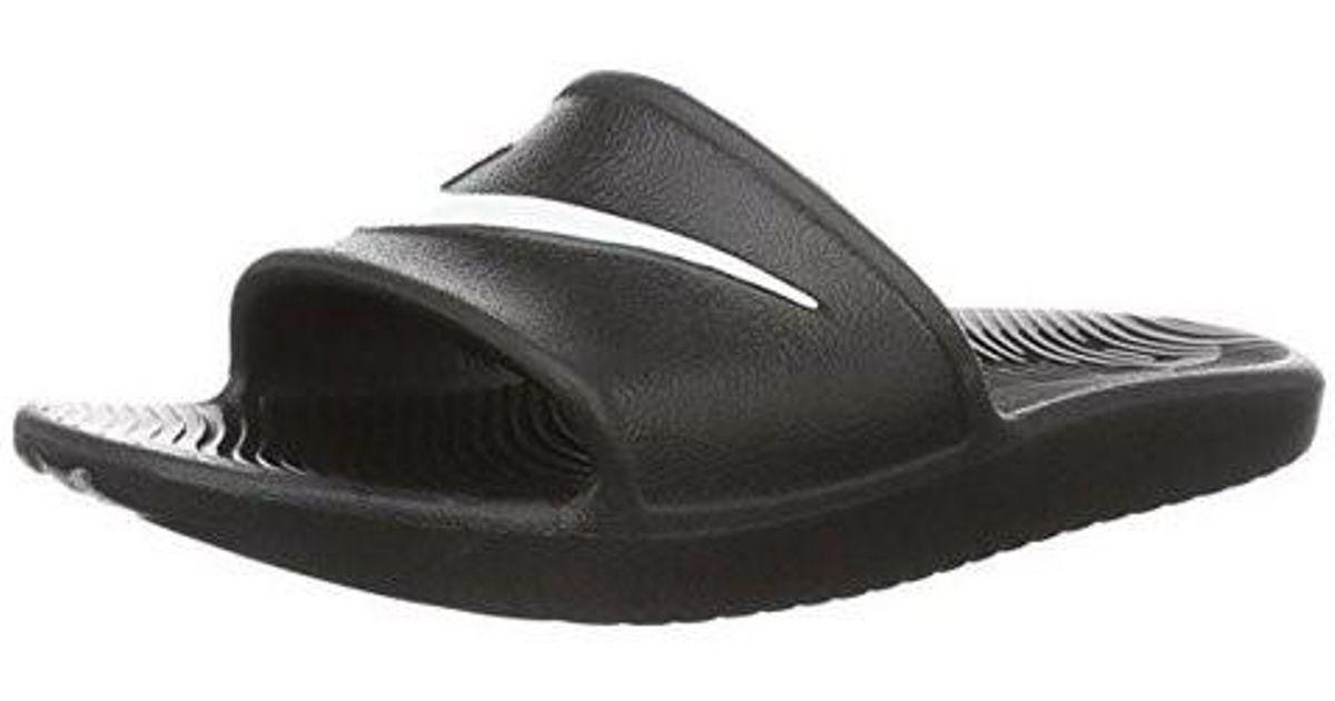 uk availability 64fd3 47833 Lyst - Nike 832528-001  Kawa Shower Sport Slide Sandals Black (7 D(m) Us) in  Black for Men