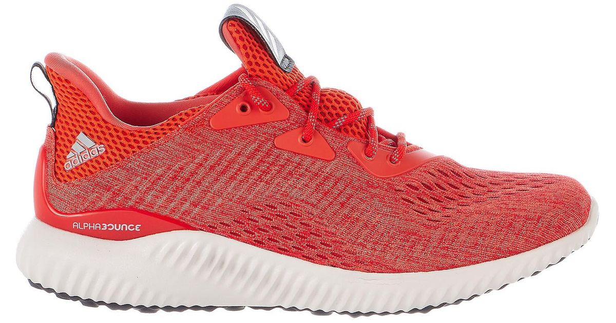 d21eda4faca9a Lyst - adidas Alphabounce Em Running Shoes in Red for Men
