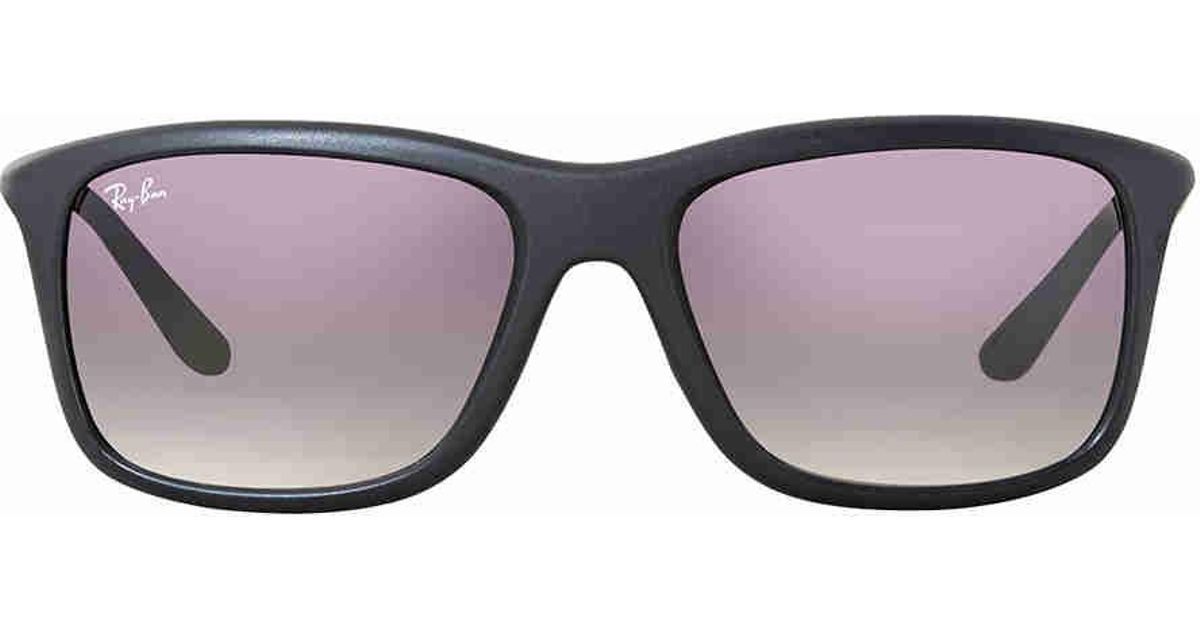 a6feffcfee2 Lyst - Ray-Ban Ray Ban Grey Gradient Sunglasses Rb8352-622011-57 in Gray