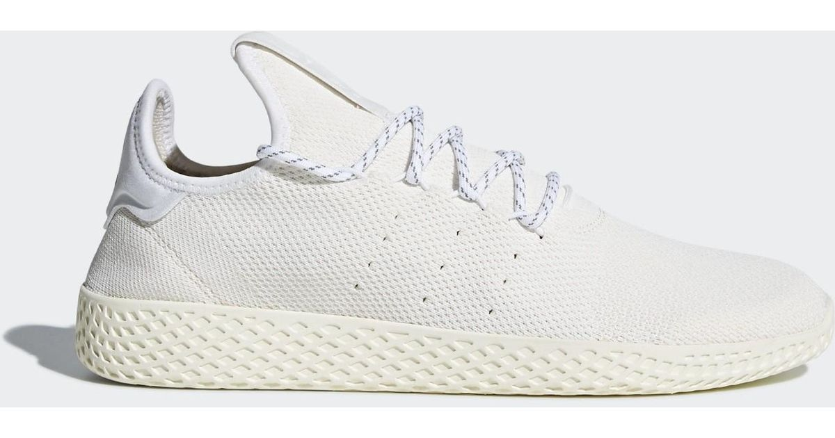 539423bda0e90 Lyst - adidas Pharrell Williams Hu Holi Tennis Hu Bc Shoes in White for Men