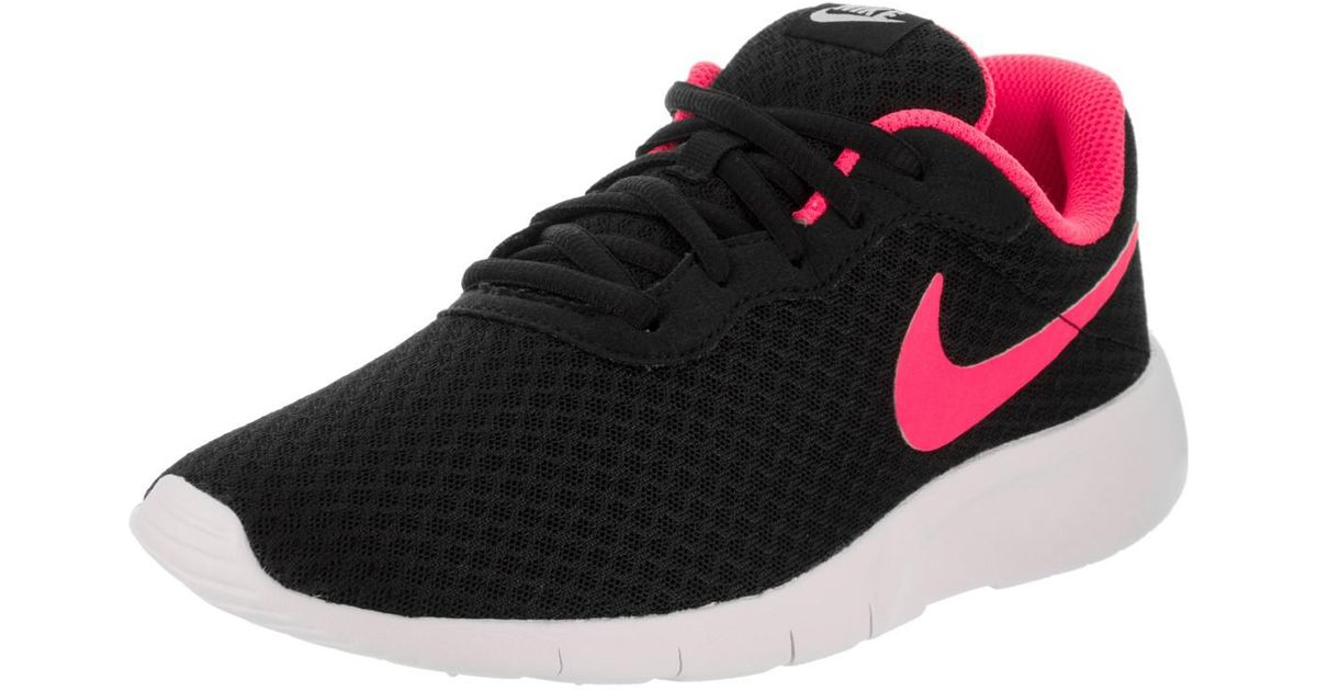 6c2e6553a54490 ... new zealand lyst nike kids tanjun gs black hyper pink white running  shoe 3.5 kids us