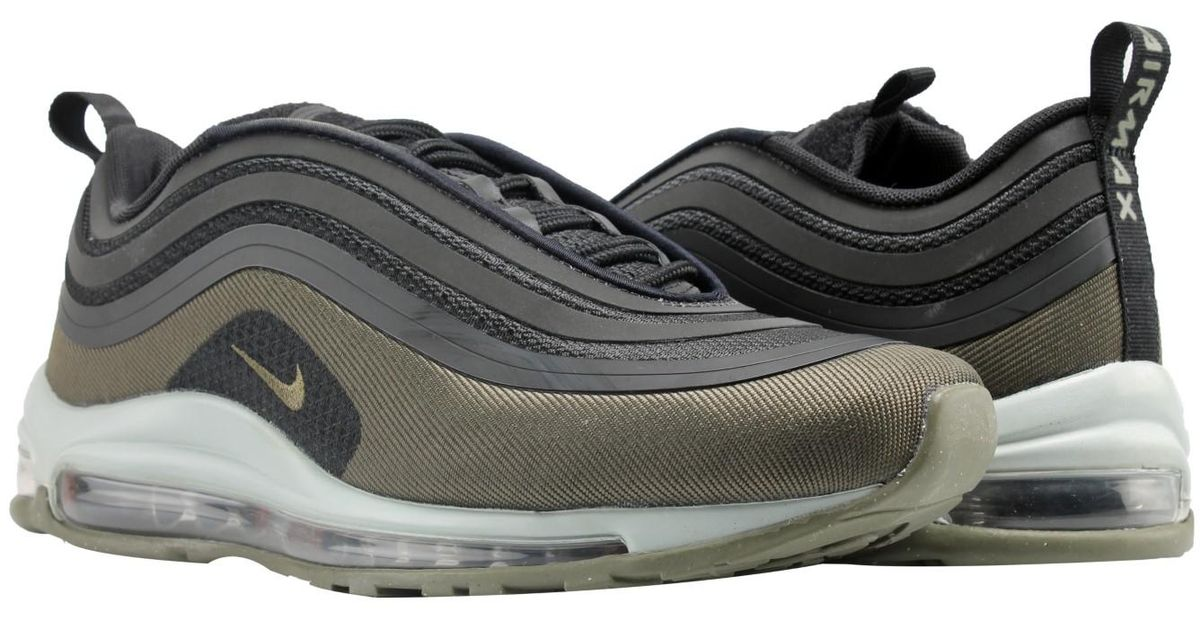 61b757e7f7 Nike Air Max 97 Ultra '17 Hal Patches Black/hazel Running Shoes Ah9945-001  in Black for Men - Lyst