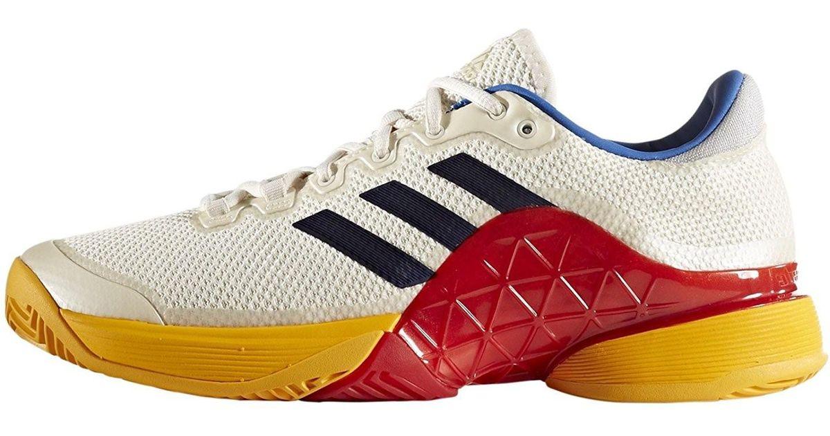 6edb31d14 Lyst - adidas Barricade 2017 Pw Tennis Shoe Scarle white blue for Men