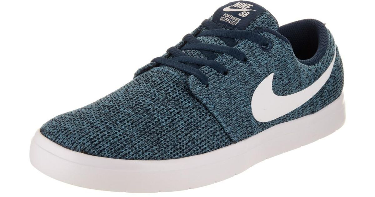 95c401ddf71d Lyst - Nike Sb Portmore Ii Ultralight Binary Blue white star Blue Skate  Shoe 10 Men Us in Blue for Men