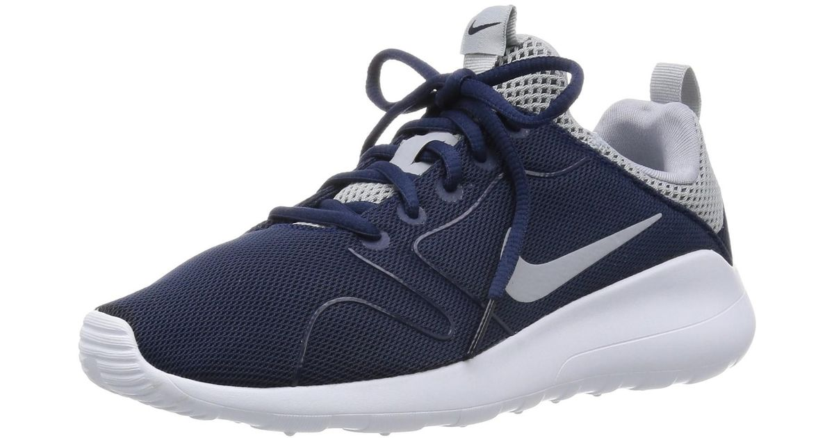 reputable site d9f6d f3ac6 Lyst - Nike Kaishi 2.0 Midnight Navy wolf Grey White Running Shoe 8.5 Men  Us in Blue for Men