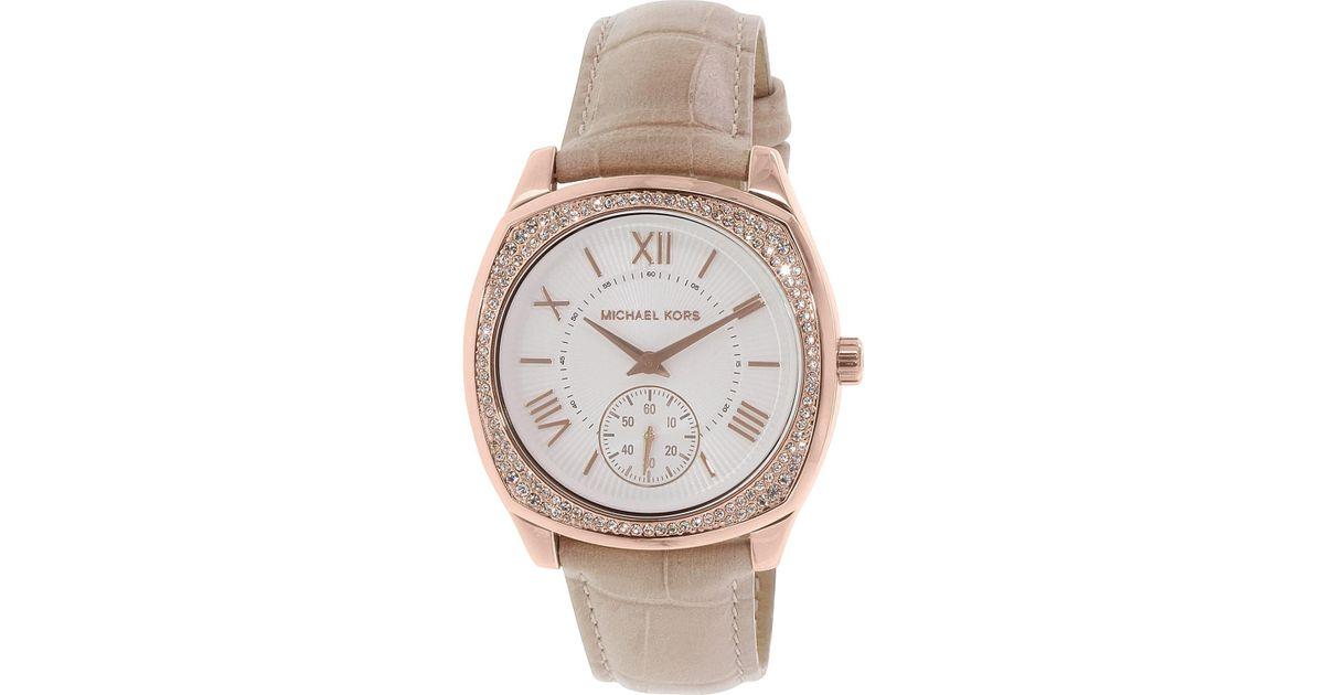 74f14bfe057e Lyst - Michael Kors Mk2388 Bryn Watch in Metallic