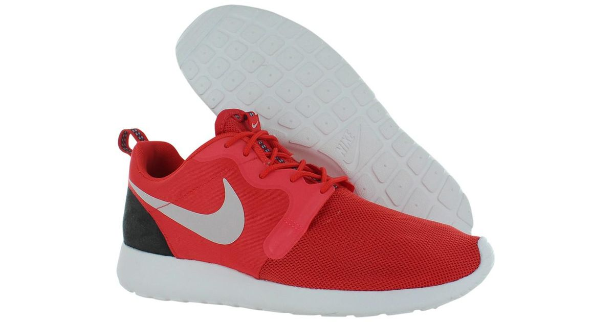 89bb5fc5b7e03 canada nike roshe red 12b55 ac8f9  closeout lyst nike rosherun hyp shoes  size 13 in red a9850 9cd79