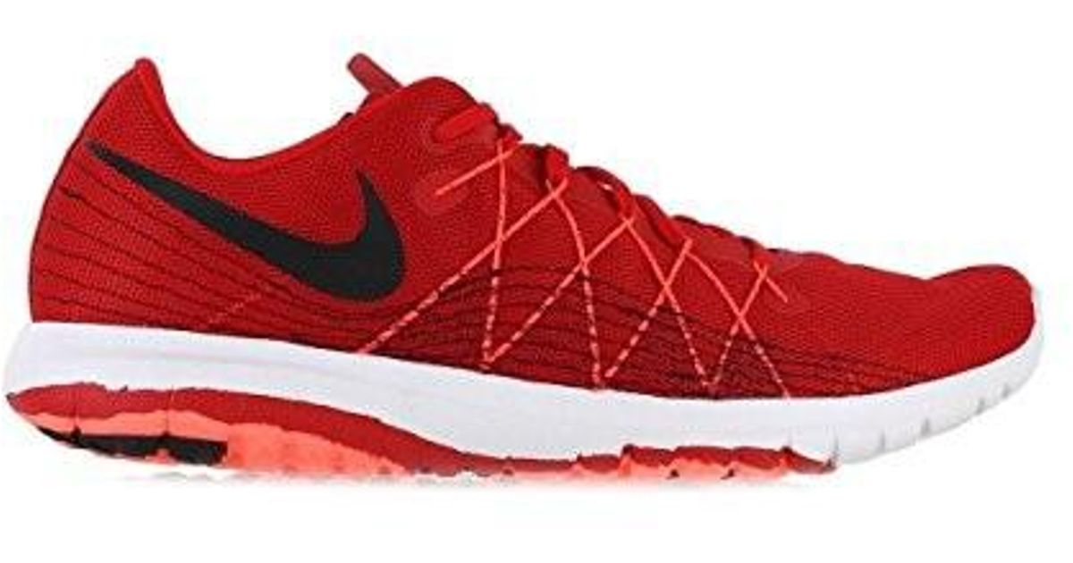 new product 2ff55 07fb5 Nike - Mens Flex Fury 2 Running Shoe Red/black 10 D(m) Us for Men - Lyst