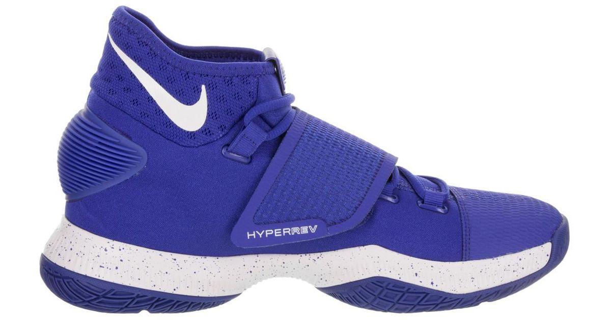 quality design ffd51 07b58 Lyst - Nike Zoom Hyperrev 2016 Game Royal white Fountain Blue Basketball  Shoe 8 Men Us in Blue for Men