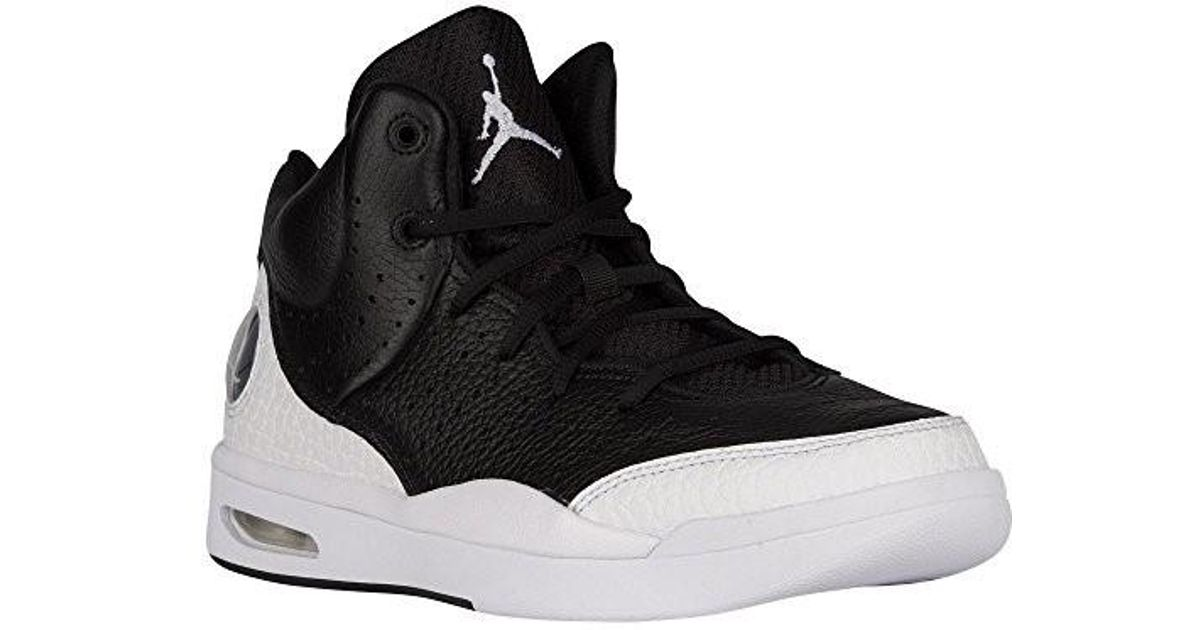 a455cc0be8d0 Lyst - Nike 819472-004 air Jordan Super Fly Flight Traditional Leather  Trainers For Men (black in Black for Men