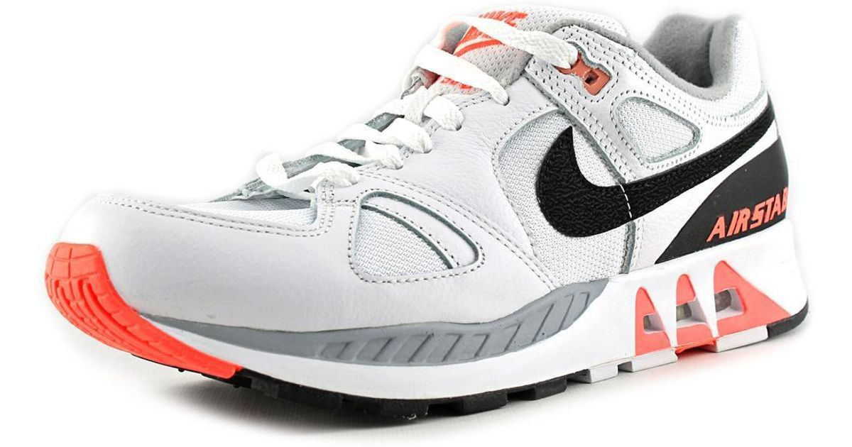size 40 91ddb 5d4aa Lyst - Nike Air Stab Men Round Toe Synthetic White Running Shoe in White  for Men