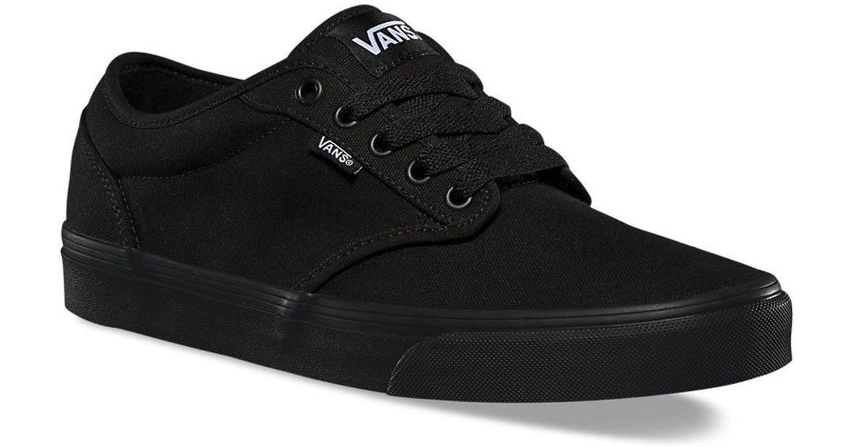 5607ec5492d ... new arrival a288a 233eb Lyst - Vans Vtuy186 Atwood Skate Shoes in Black  for Men ...