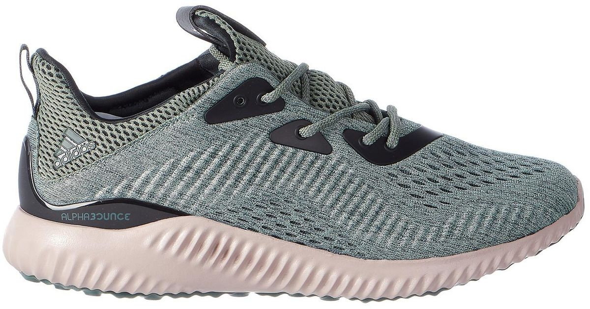 67a33850135 Lyst - adidas Alphabounce Em Utility Ivy trace Green vapour Grey Running  Shoe 9 Men Us in Gray